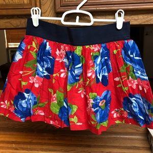 Hollister mini skirt size small